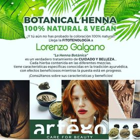 Botanical Henna 100% Natural e Vegan