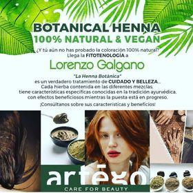 Botanical Henna 100% Natural e Vegan